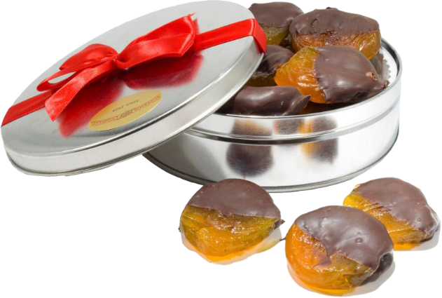Try our Rich & Elegant Dark Chocolate Dipped Apricots